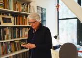 Susan Harding in her office
