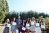 Photo: Anthropology graduate award recipients