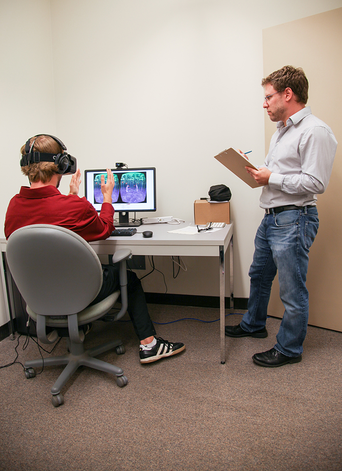 research study on oculus rift The military's army of hackers may soon use oculus rift to fight the cyberwar the defense advanced research projects agency (darpa), basically the q to the us department of defense's james bond, is experimenting with using the oculus rift headset (as wired first reported.
